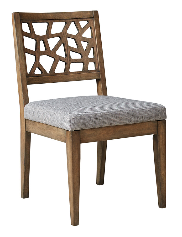 Ink Ivy Crackle Side Chair Set Of 2 Ebay