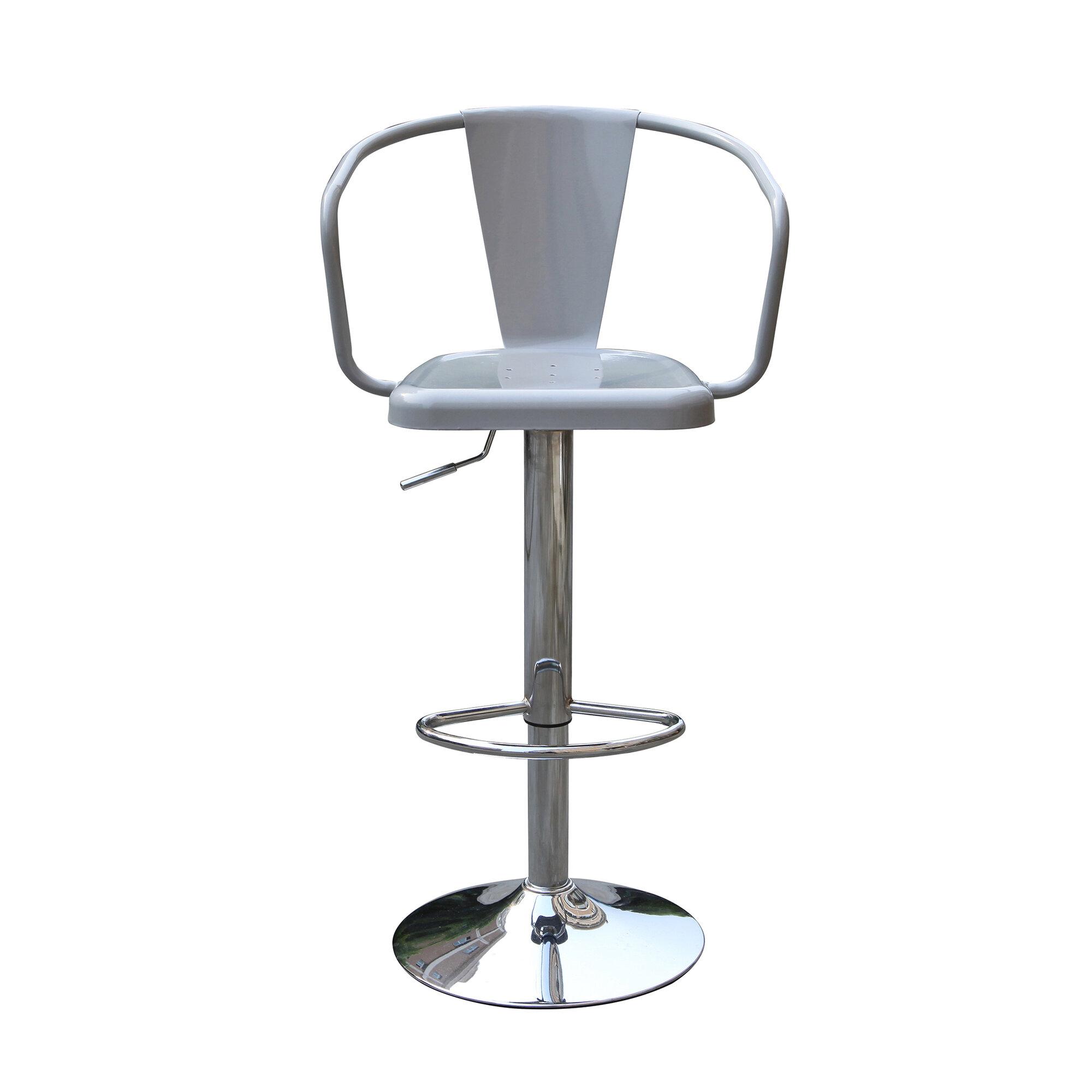 Techni Mobili Adjustable Height Swivel Bar Stool Set of 2  : 1 from www.ebay.com size 2000 x 2000 jpeg 175kB