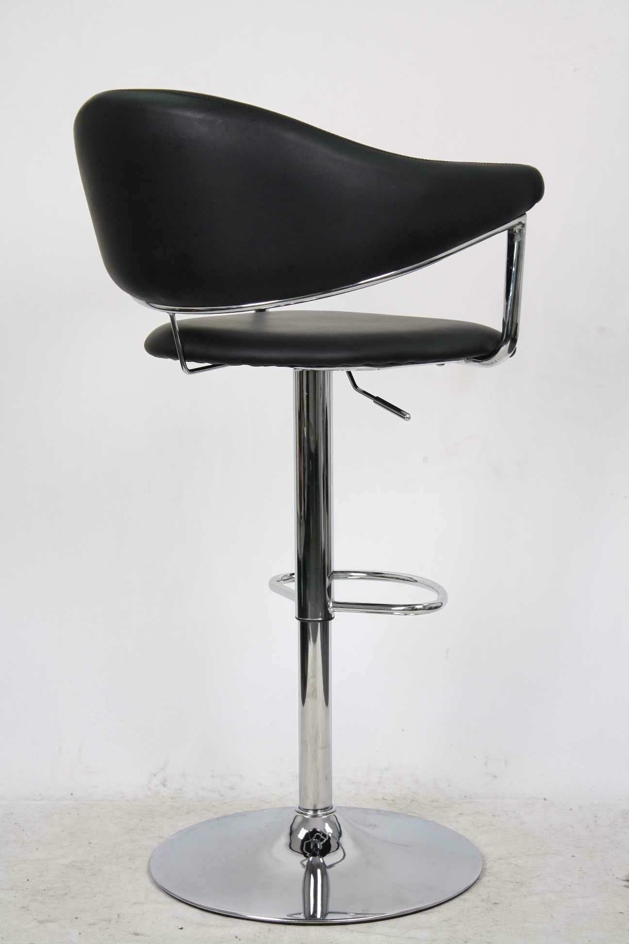 Whalen Furniture Airstream Gas Lift Bar Stool Ebay