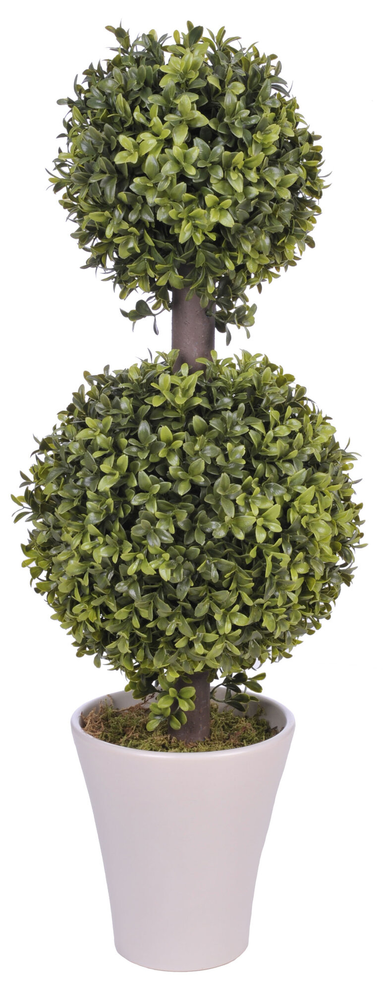house of silk flowers inc artificial double ball topiary. Black Bedroom Furniture Sets. Home Design Ideas