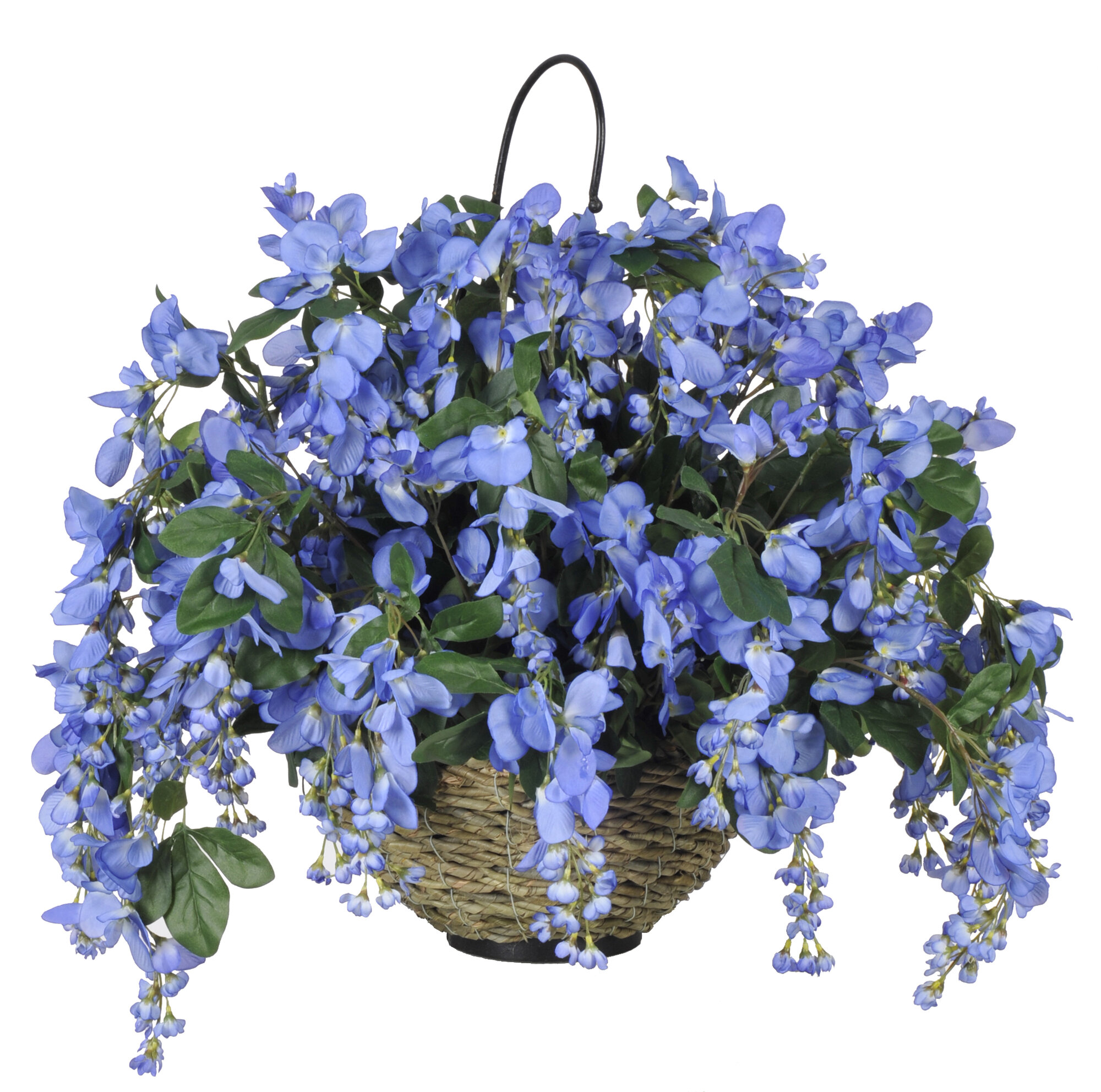 house of silk flowers inc artificial wisteria hanging. Black Bedroom Furniture Sets. Home Design Ideas