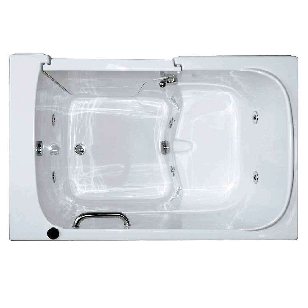 Ella Walk In Baths Bariatric Seat Hydrotherapy Massage Whirlpool Walk In Tub