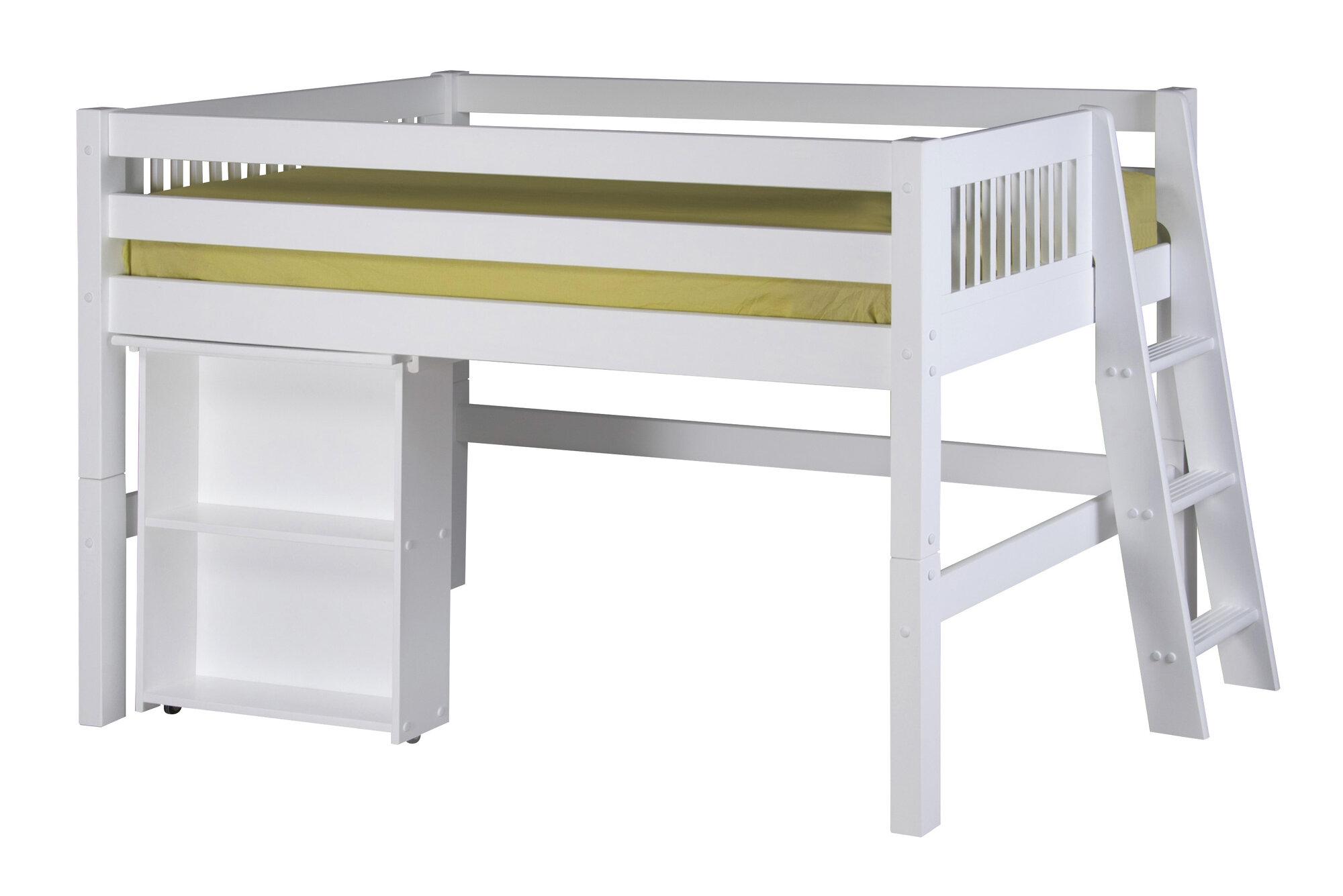 Camaflexi low loft bed retractable desk ebay for Retractable bed