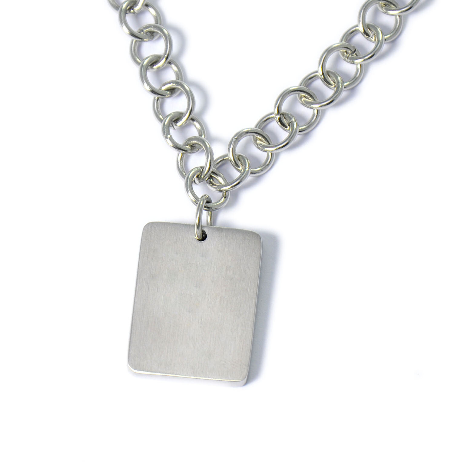 Square Charm Bracelet: U Name It Jewelry Square Link Bracelet