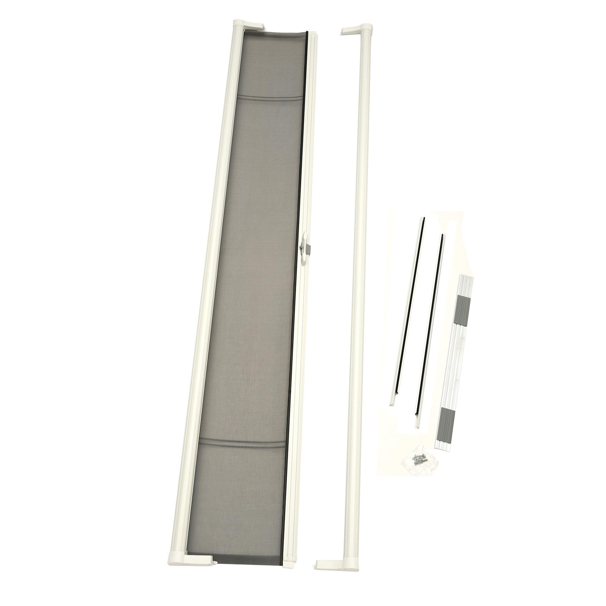 Zabitat an odl company brisa retractable screen door ebay for Inside mount retractable screen door