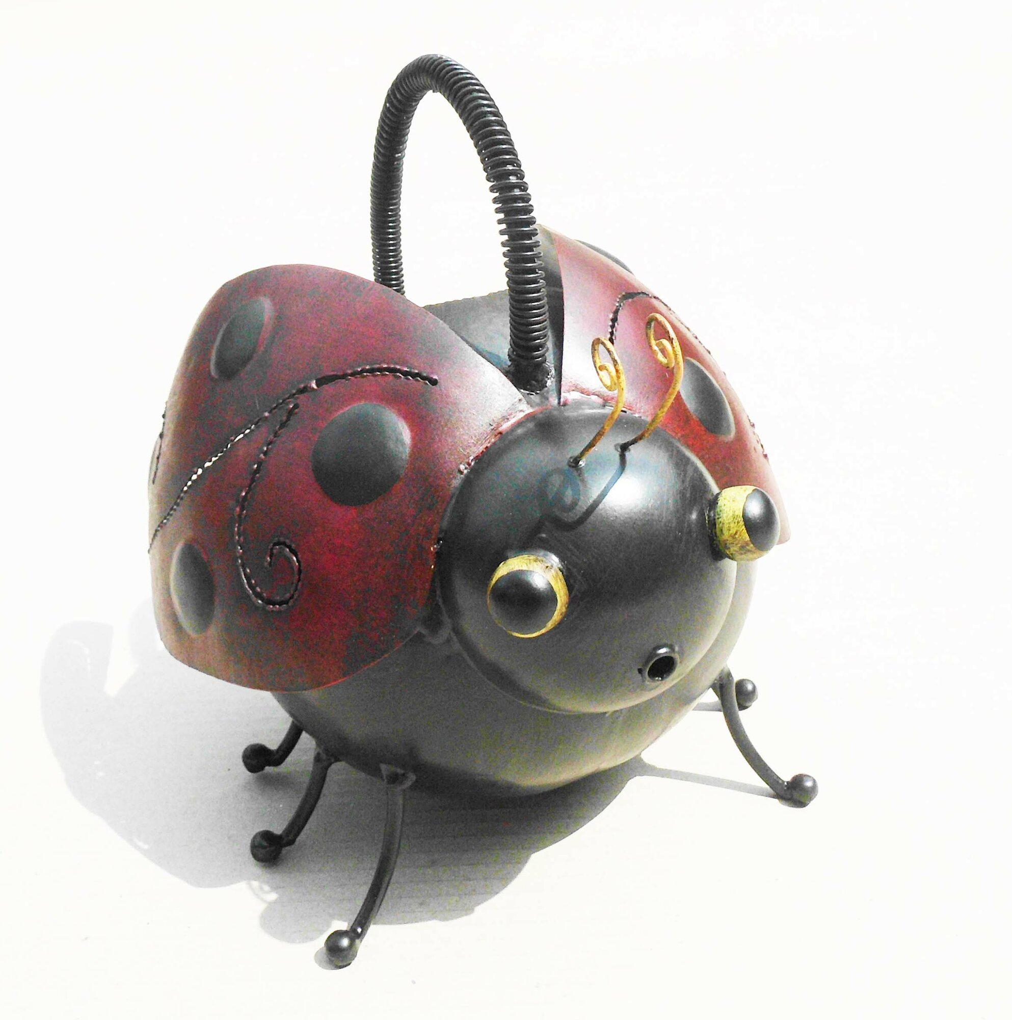 D art collection iron ladybug watering can - Ladybug watering can ...
