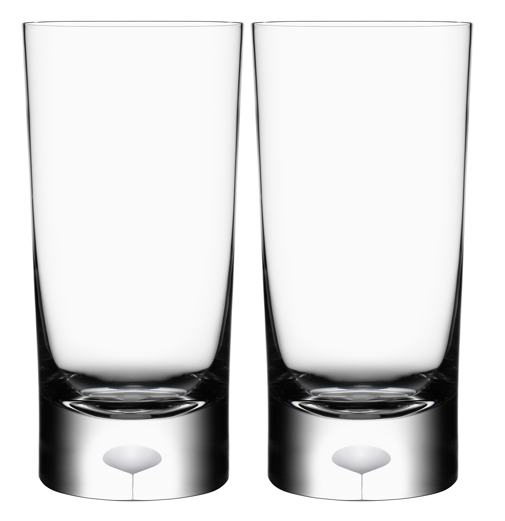 Orrefors Intermezzo Satin Glass Set of 2 | eBay