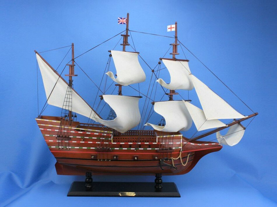 Handcrafted Nautical Decor Mayflower Model Ship Hacm1502
