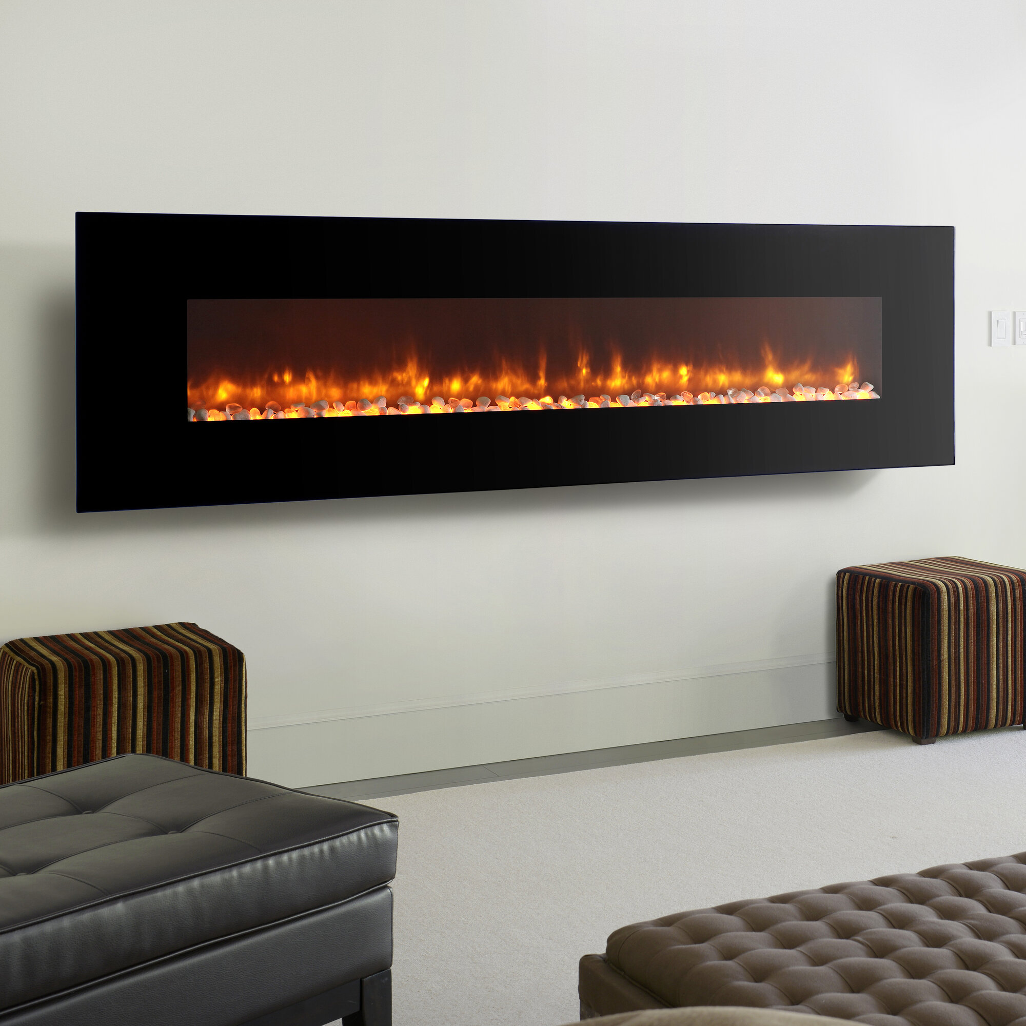 dynasty fireplaces led wall mount electric fireplace ebay. Black Bedroom Furniture Sets. Home Design Ideas