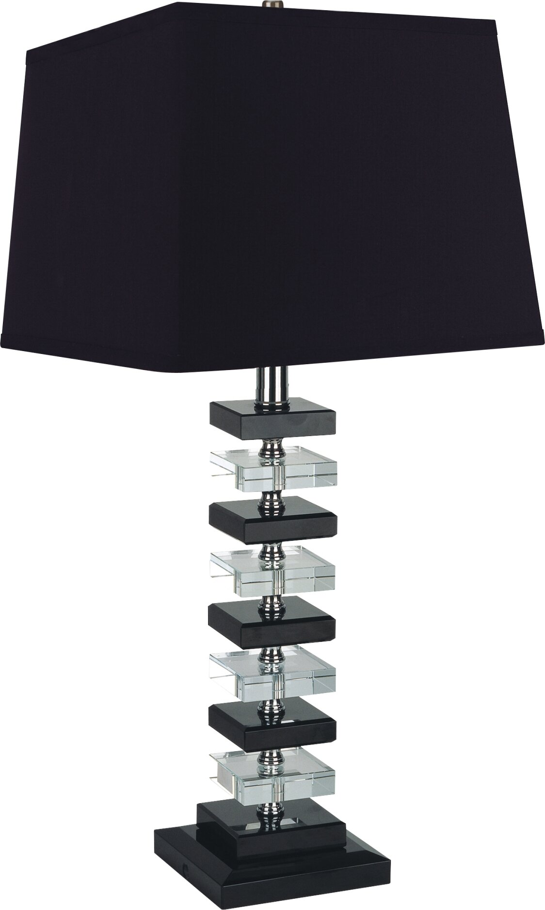 milton green star raiden 27 table lamp set set of 2 ebay. Black Bedroom Furniture Sets. Home Design Ideas