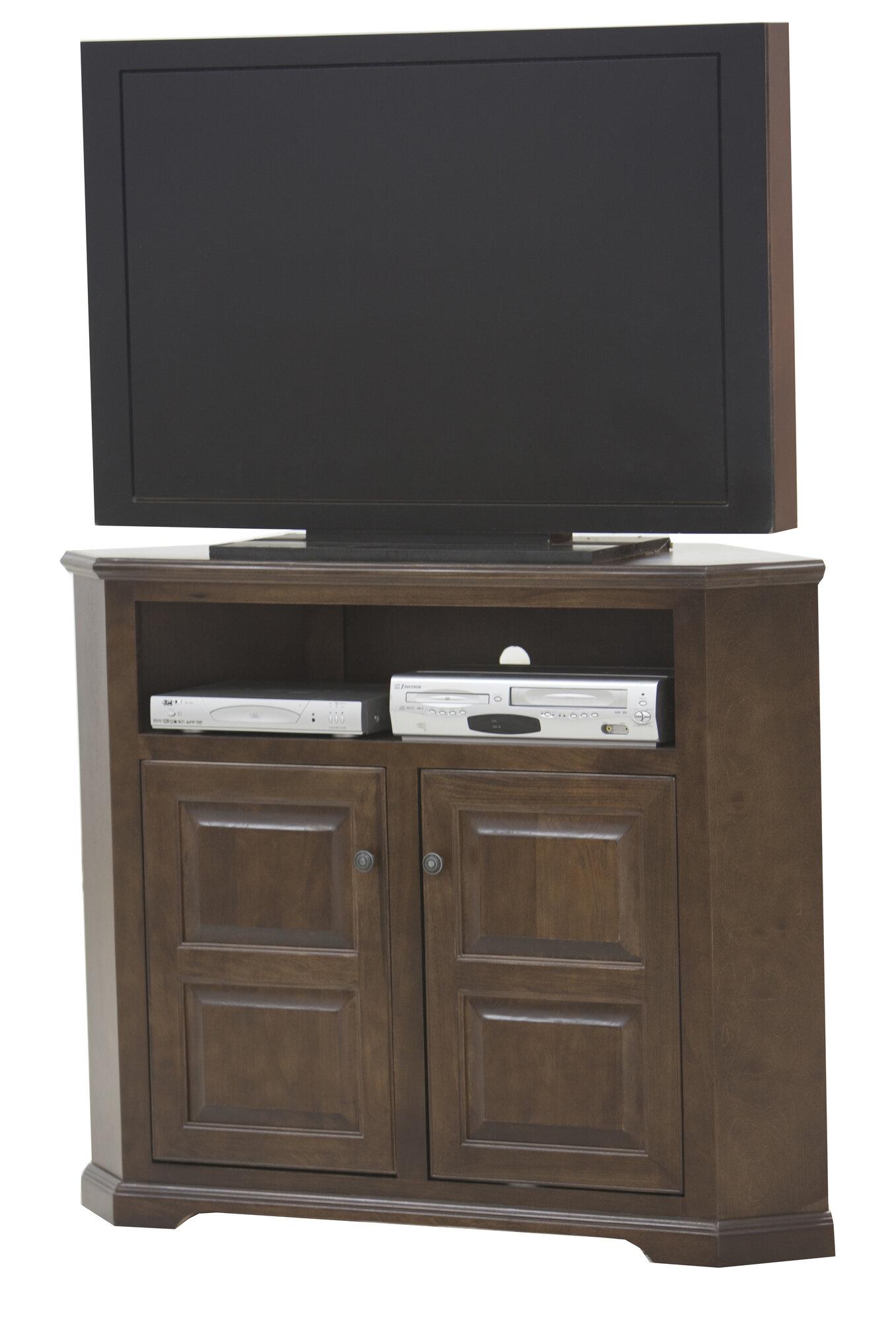 Eagle Furniture Manufacturing Savannah TV Stand Finish: European Coffee, Door Type: Plain Glass