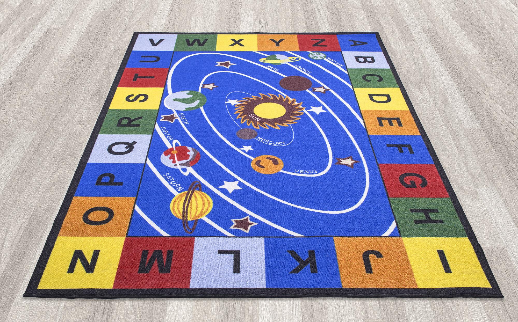 Modern Classroom Rug ~ Ottomanson children s educational area rug ebay