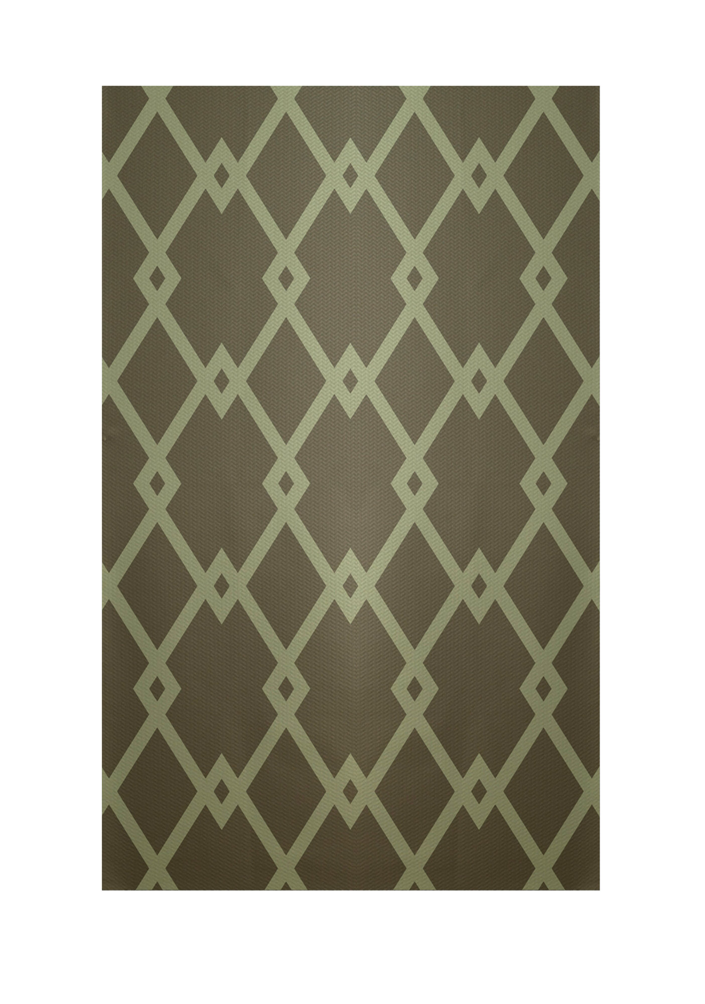 e by design decorative geometric sage green area rug ebay. Black Bedroom Furniture Sets. Home Design Ideas