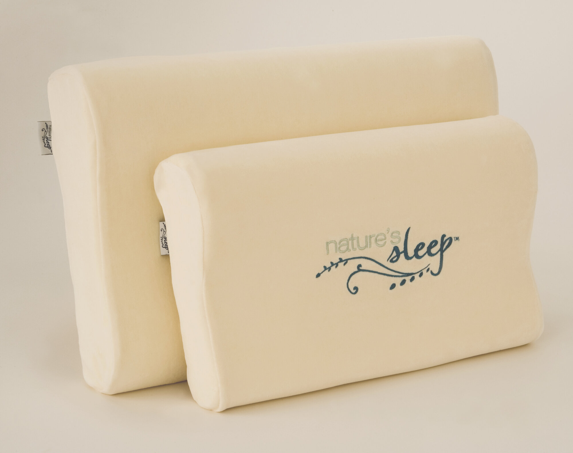 Nature S Sleep Visco Contour Memory Foam Pillow Ebay
