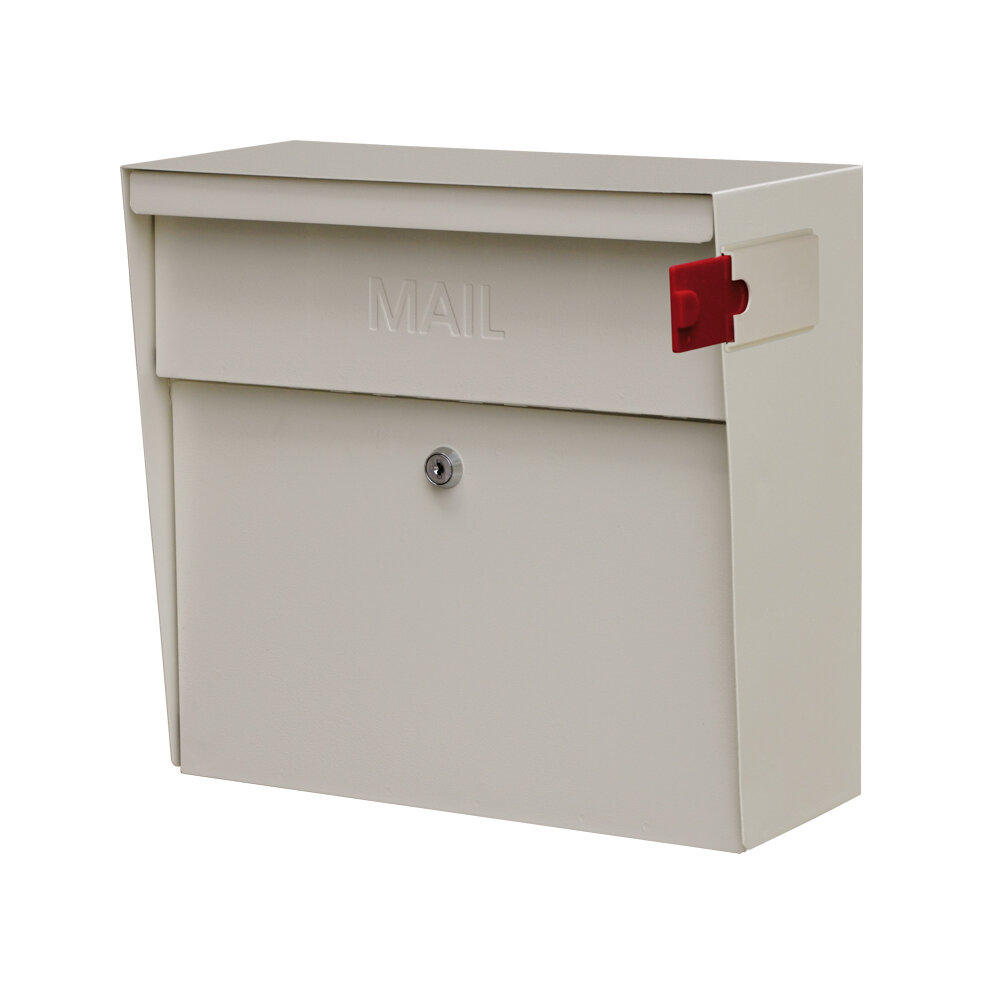 Mail Boss Metro Locking Wall Mounted Mailbox Ebay