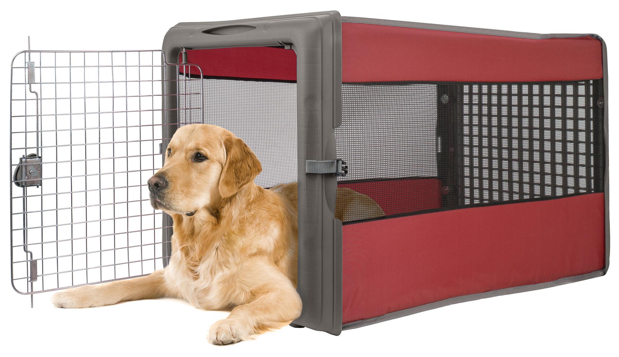 sportpet design large pop open pet crate ebay. Black Bedroom Furniture Sets. Home Design Ideas
