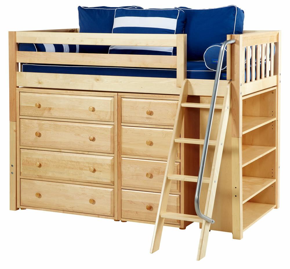"Maxtrix Kids Storage Units 38"" Standard Bookcase"