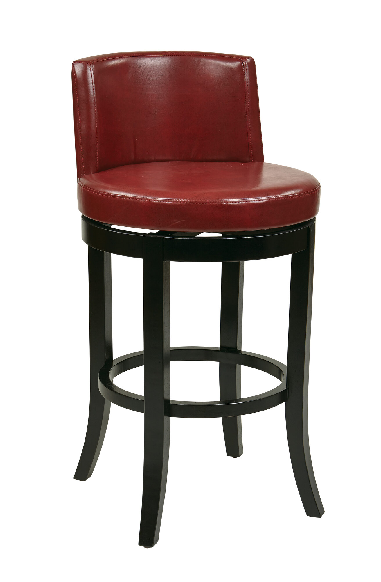 Osp Designs Metro Bonded Leather 30 Quot Swivel Bar Stool Ebay