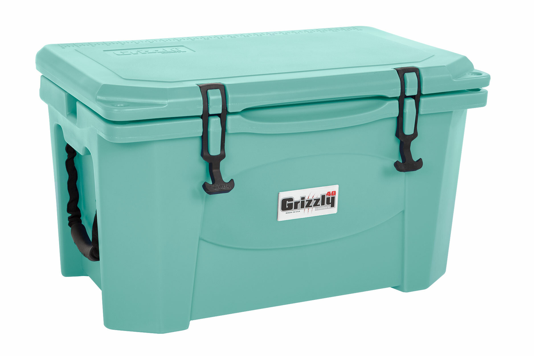 Green Styrofoam Coolers ~ Grizzly coolers qt rotomolded cooler sea foam green ebay
