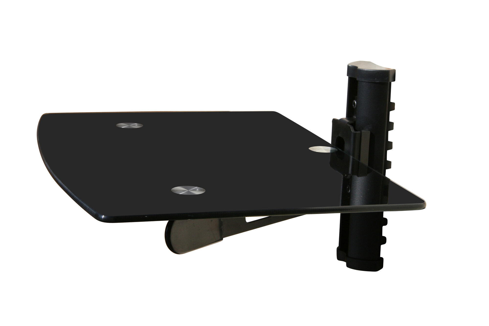 Wall Mounted Tv And Component Shelf Combo Dvd Dvr Vcr Wall