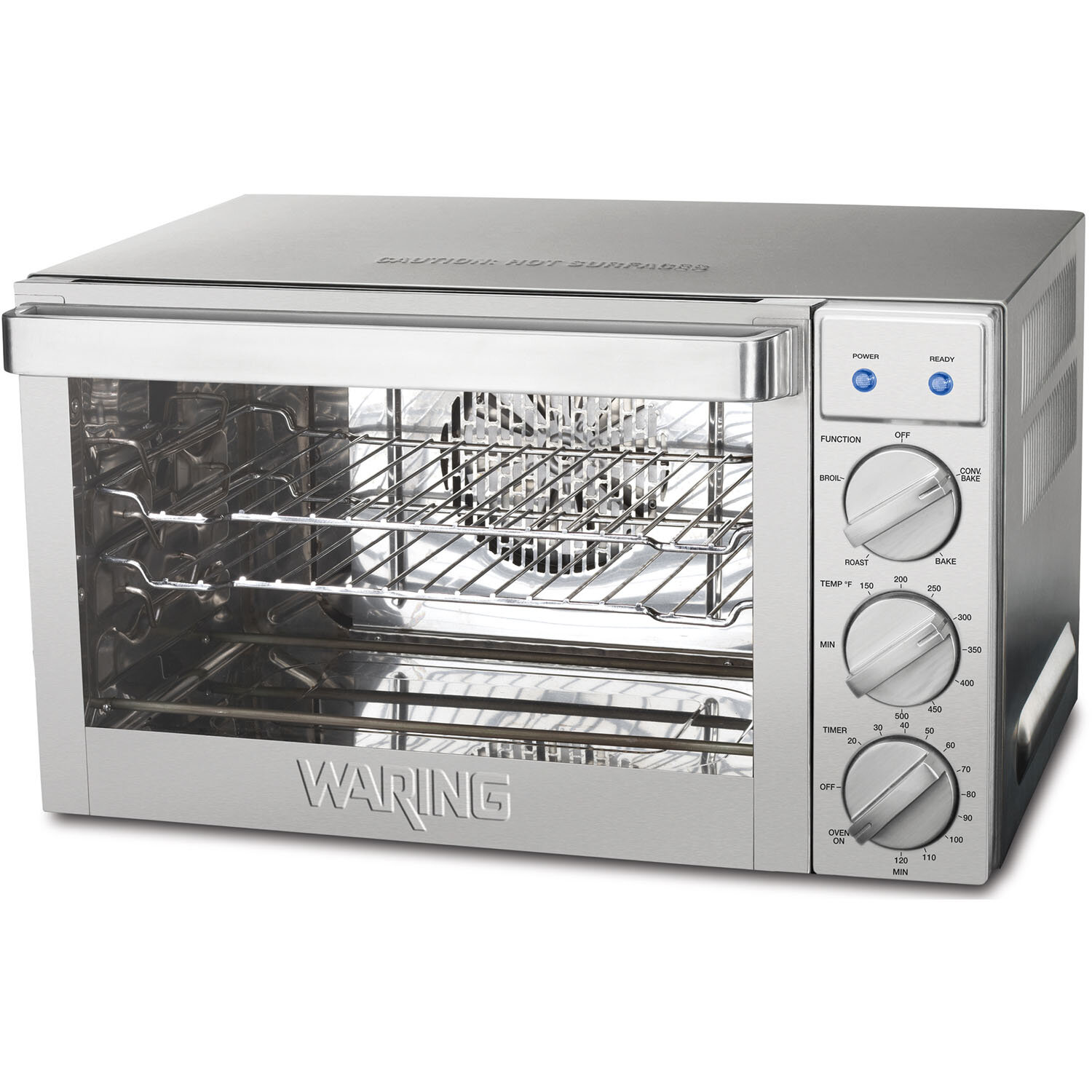... about Waring 0.9-Cubic Foot Commercial Countertop Convection Oven