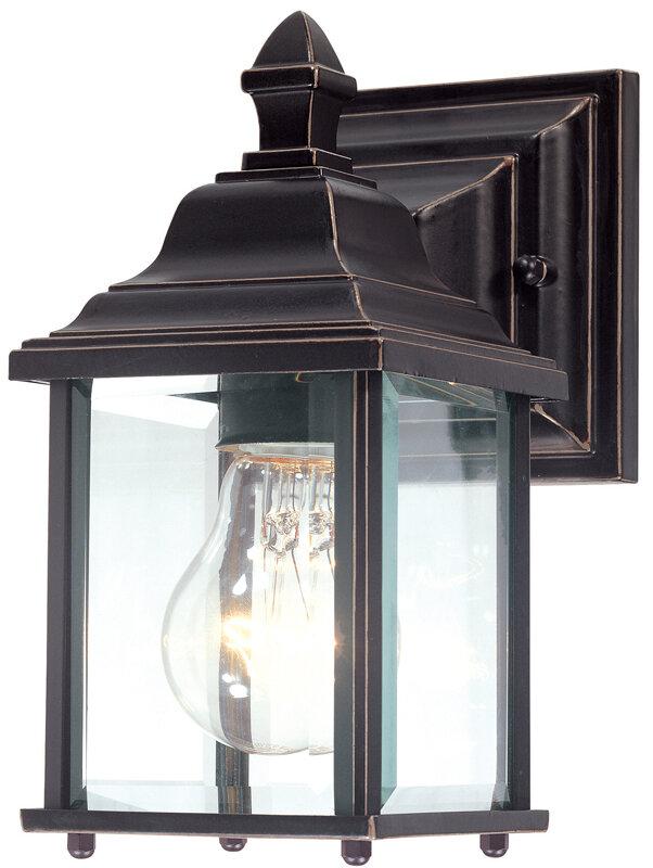 details about dolan designs charleston 1 light outdoor wall lantern