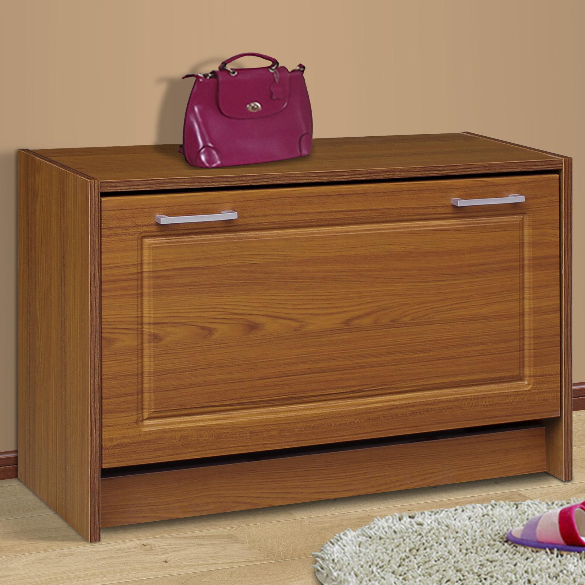 4d concepts single 12 pair shoe storage cabinet ebay - Shoe cabinet for small spaces concept ...