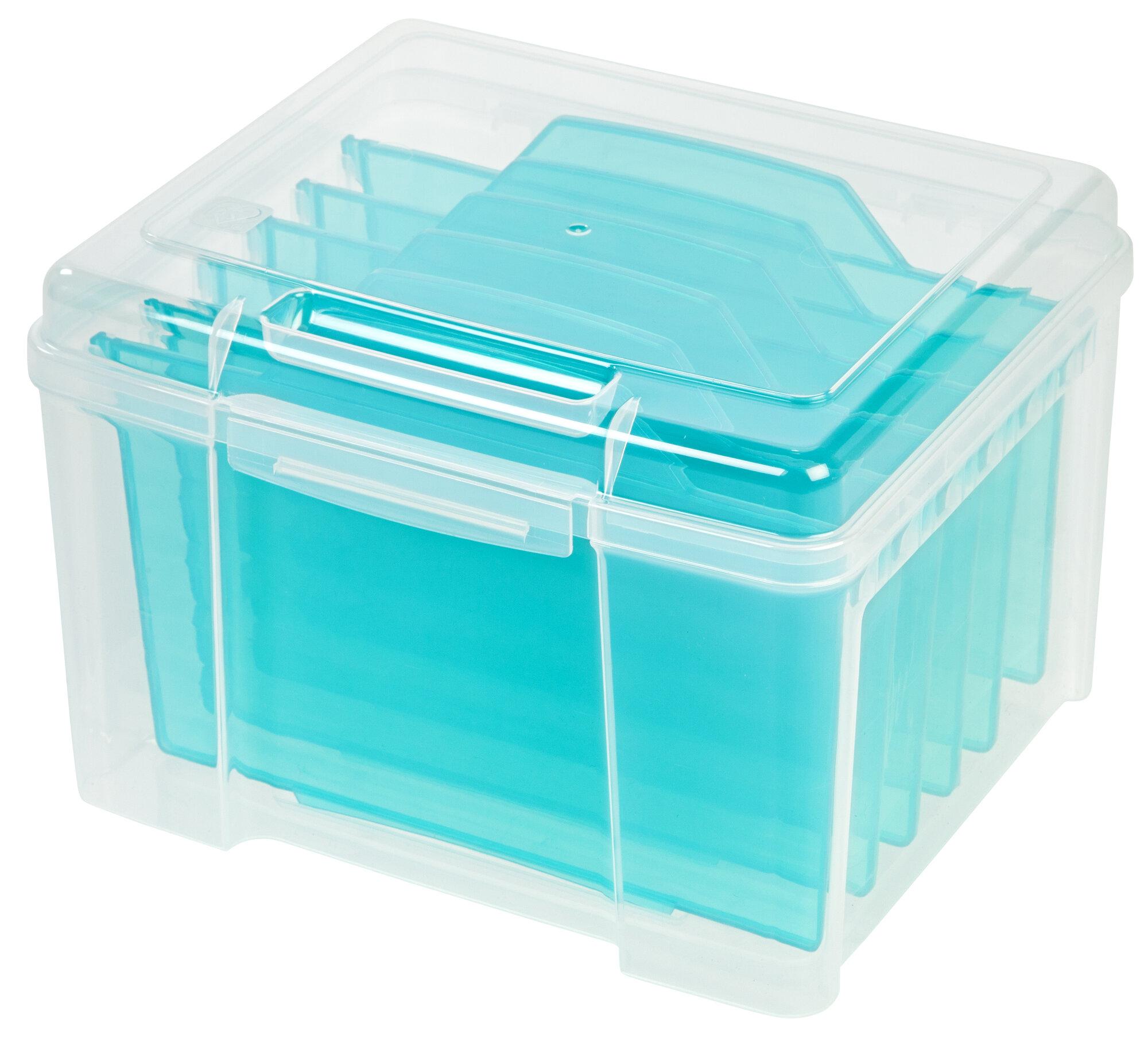 IRIS USA, Inc. Greeting Card Storage Box