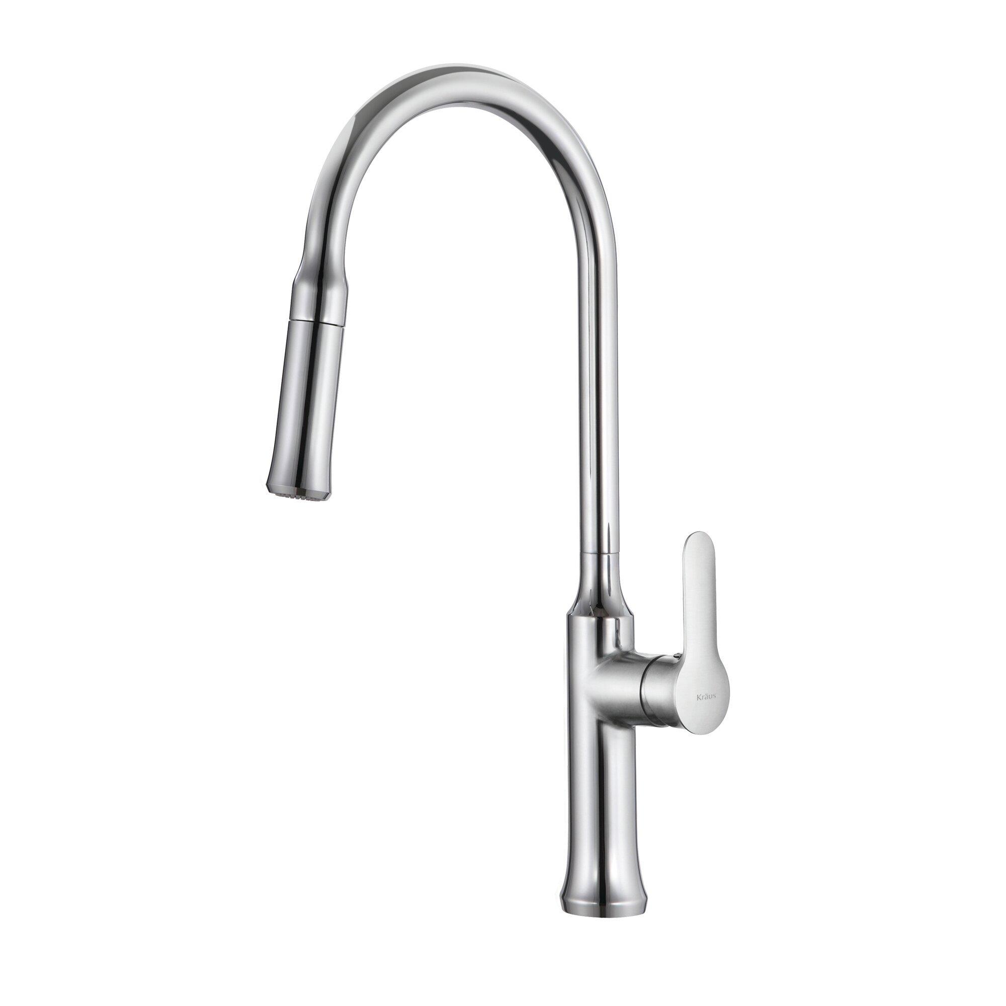 Details about Kraus Nola? Single Lever Pull-down Kitchen Faucet