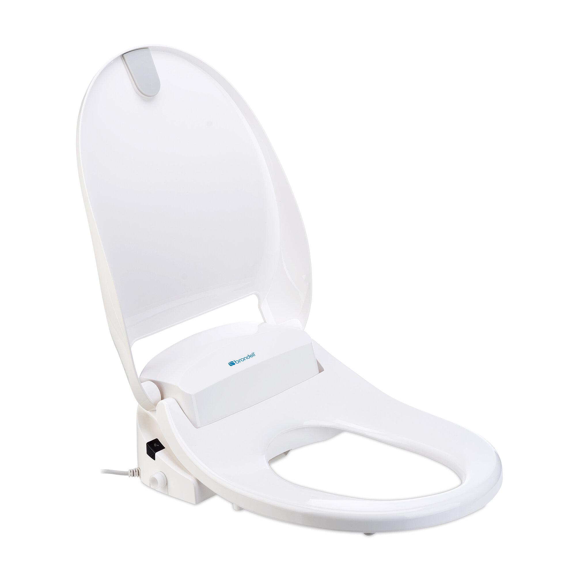 Brondell Swash 300 Round Bidet Toilet Seat Ebay