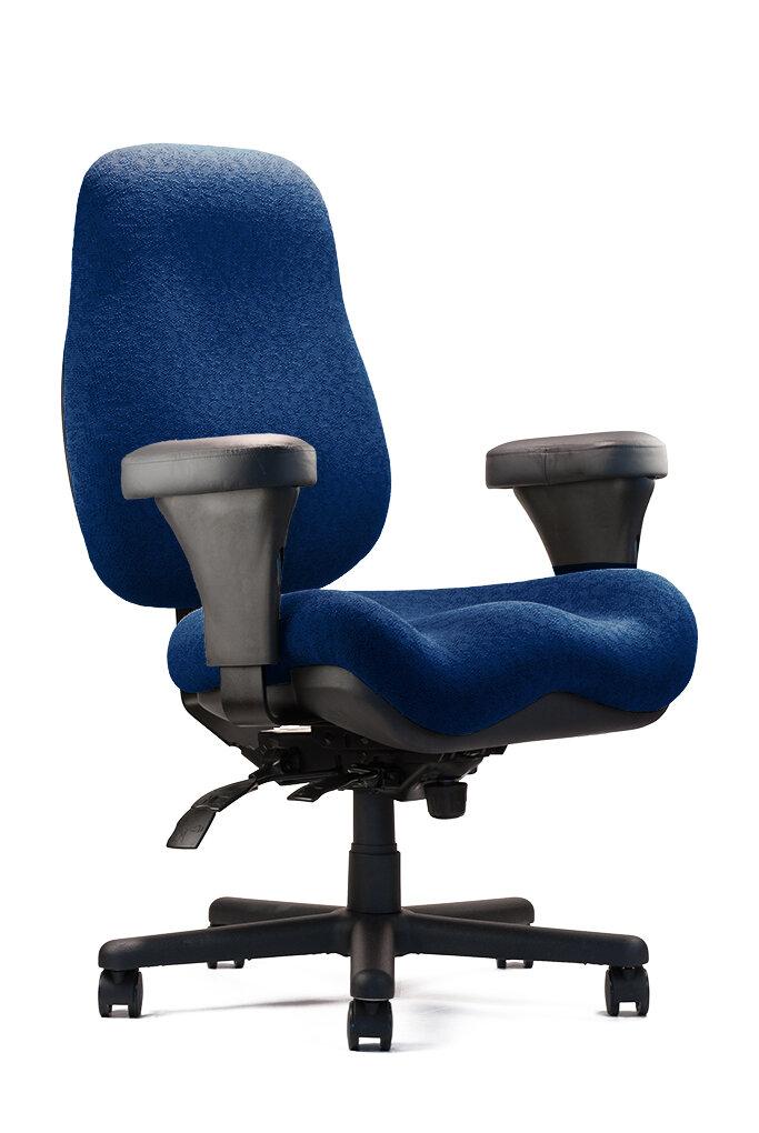 neutral posture big and tall jr large high back desk