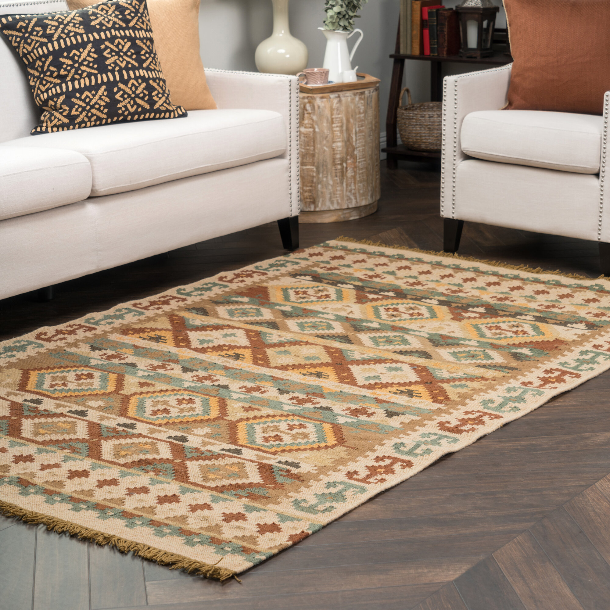 Kosas Home Jayden Indoor/Outdoor Kilim Rug
