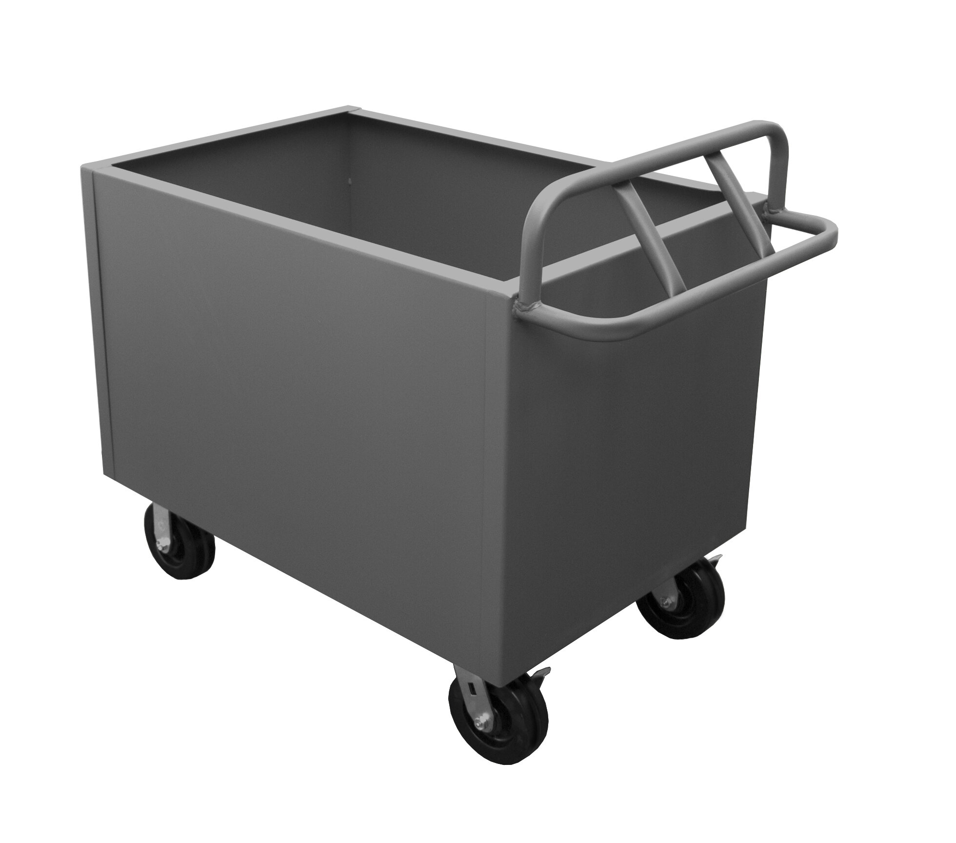 Factory Utility Cart: Durham Manufacturing Box Utility Cart