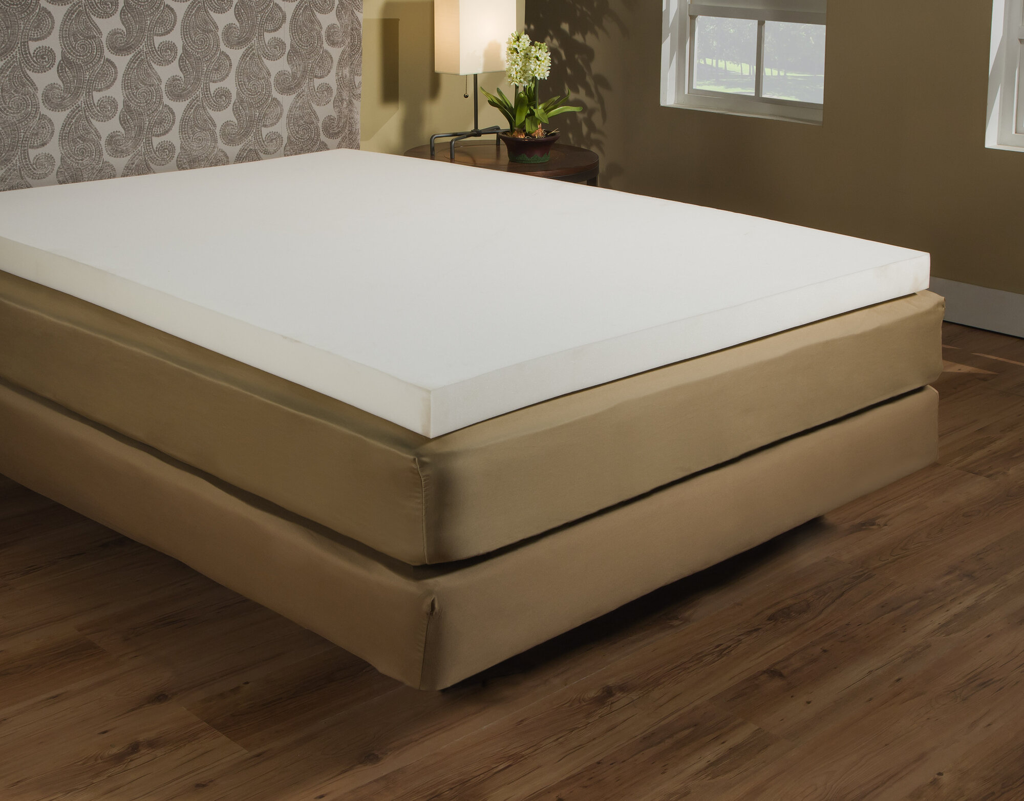 Independent Sleep Memory Foam 3 Mattress Topper