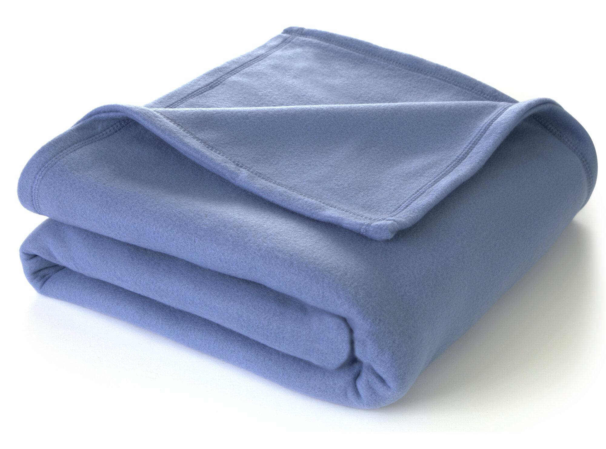 Vellux martex super soft polyester fleece throw blanket ebay for Vellux blanket