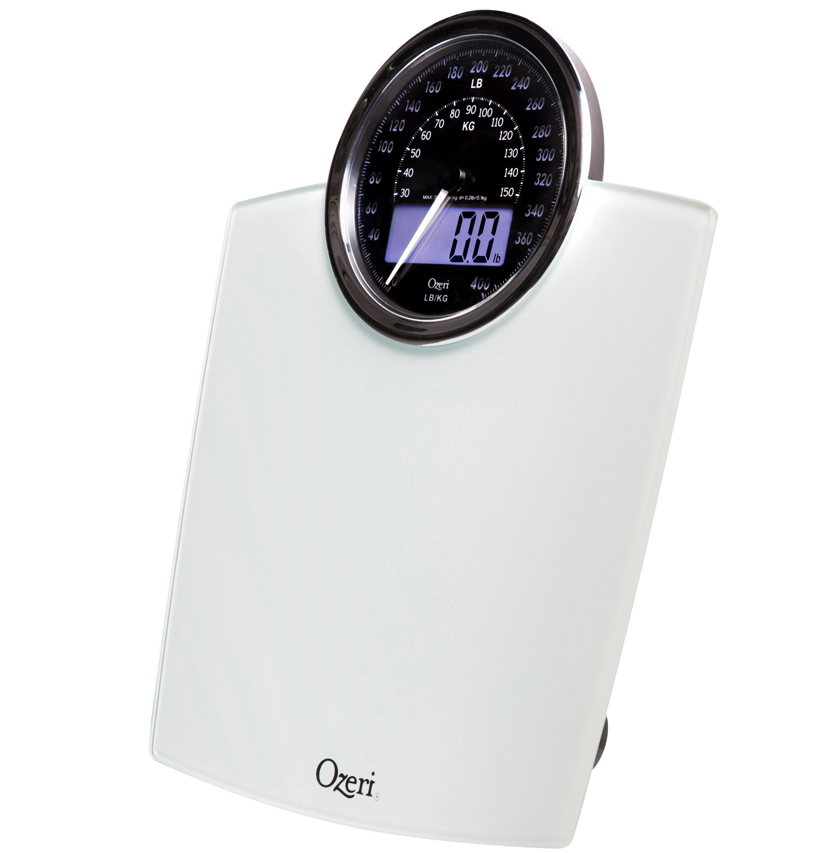 Electronic Bathroom Weighing Scales: Ozeri Rev Digital Bathroom Scale With Electro-Mechanical