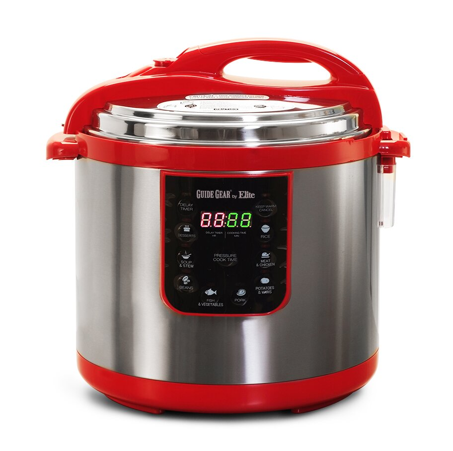 Electric Pressure Cooker Cookbooks ~ Elite by maxi matic quart electric pressure cooker ebay