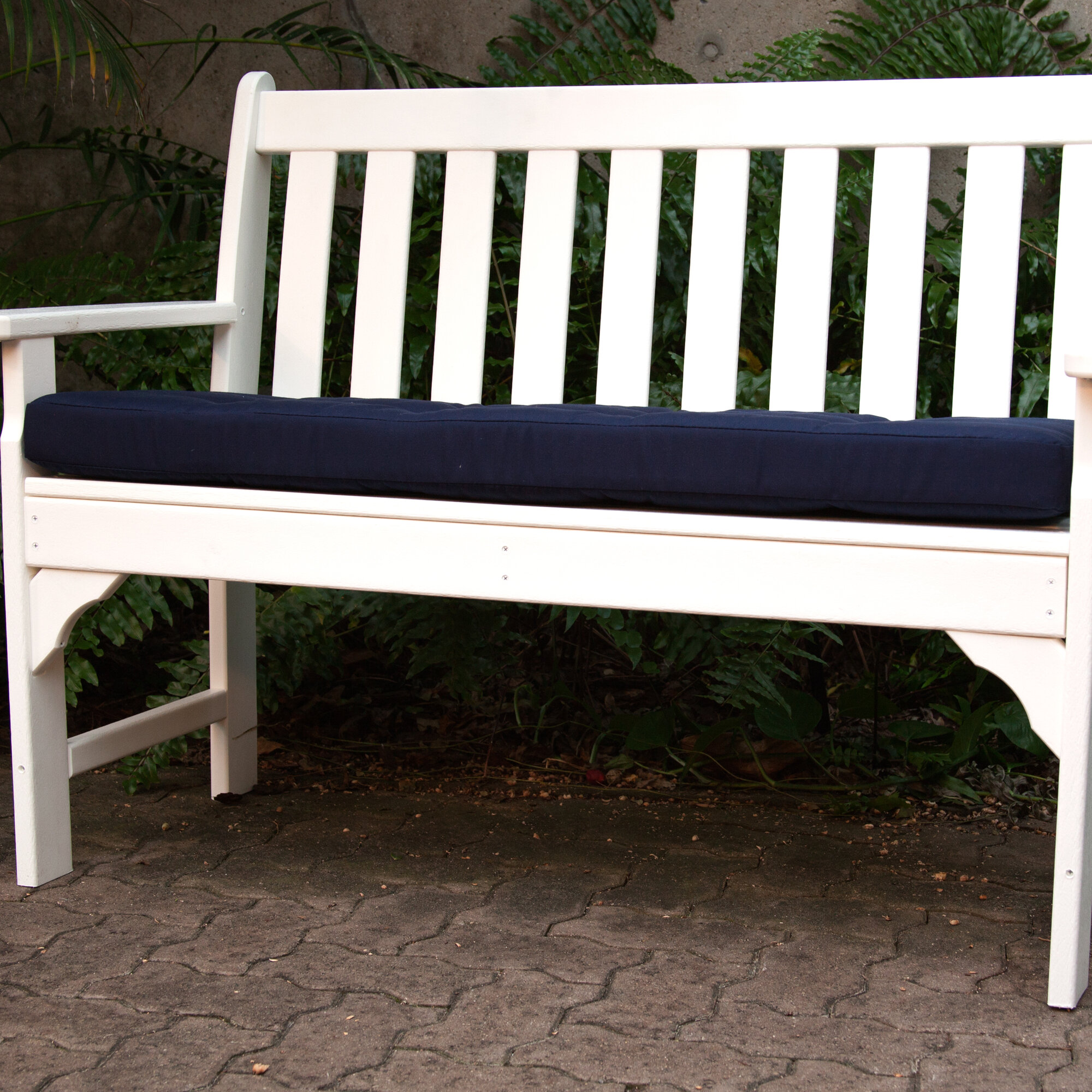 Ateeva Luxe Outdoor Sunbrella Bench Cushion Ebay