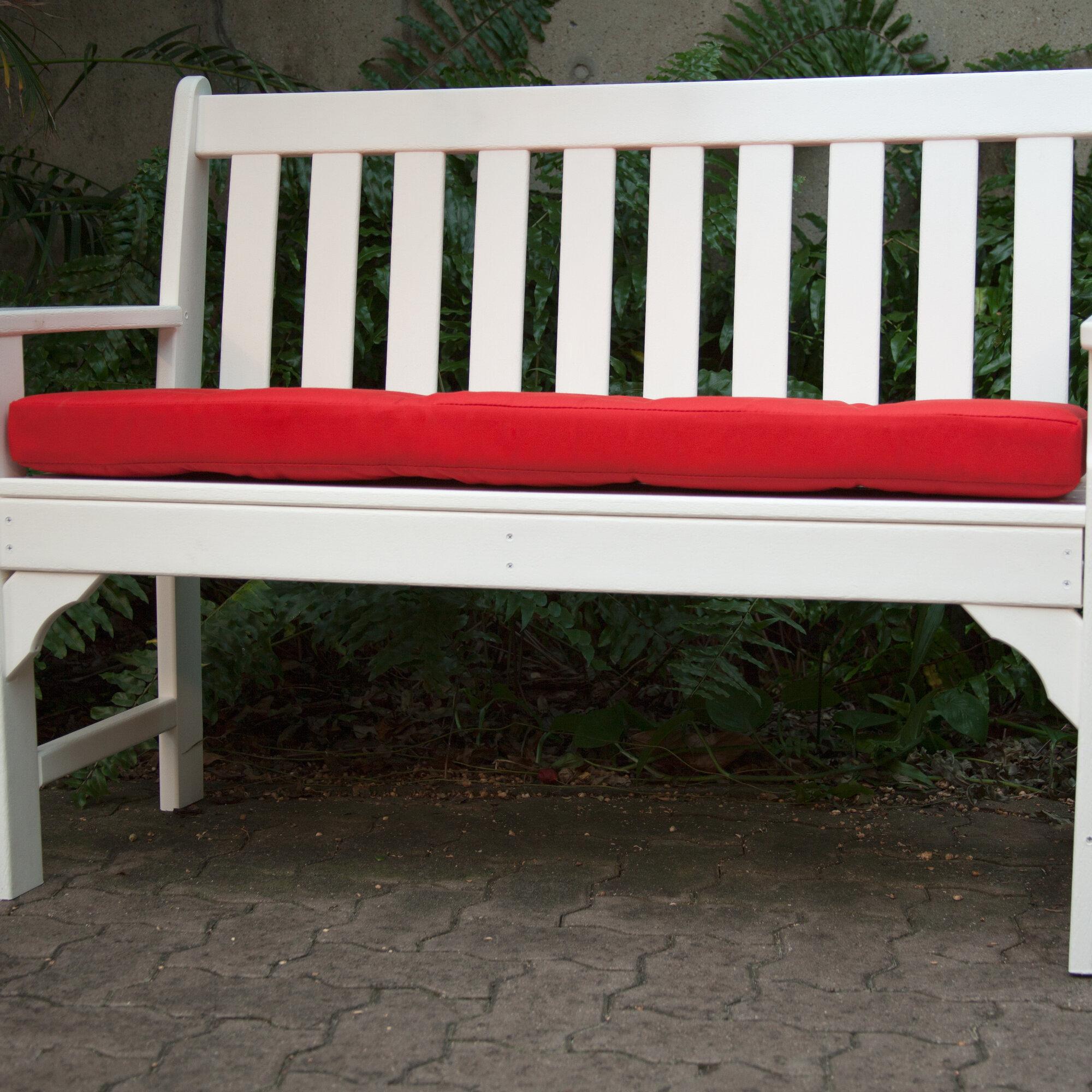 Ateeva Luxe Outdoor Sunbrella Bench Cushion Ebay