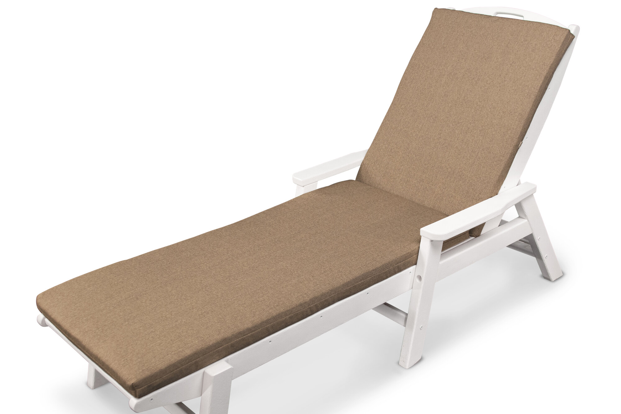 Ateeva outdoor sunbrella chaise lounge cushion ebay for Chaise lounge cushion covers outdoor