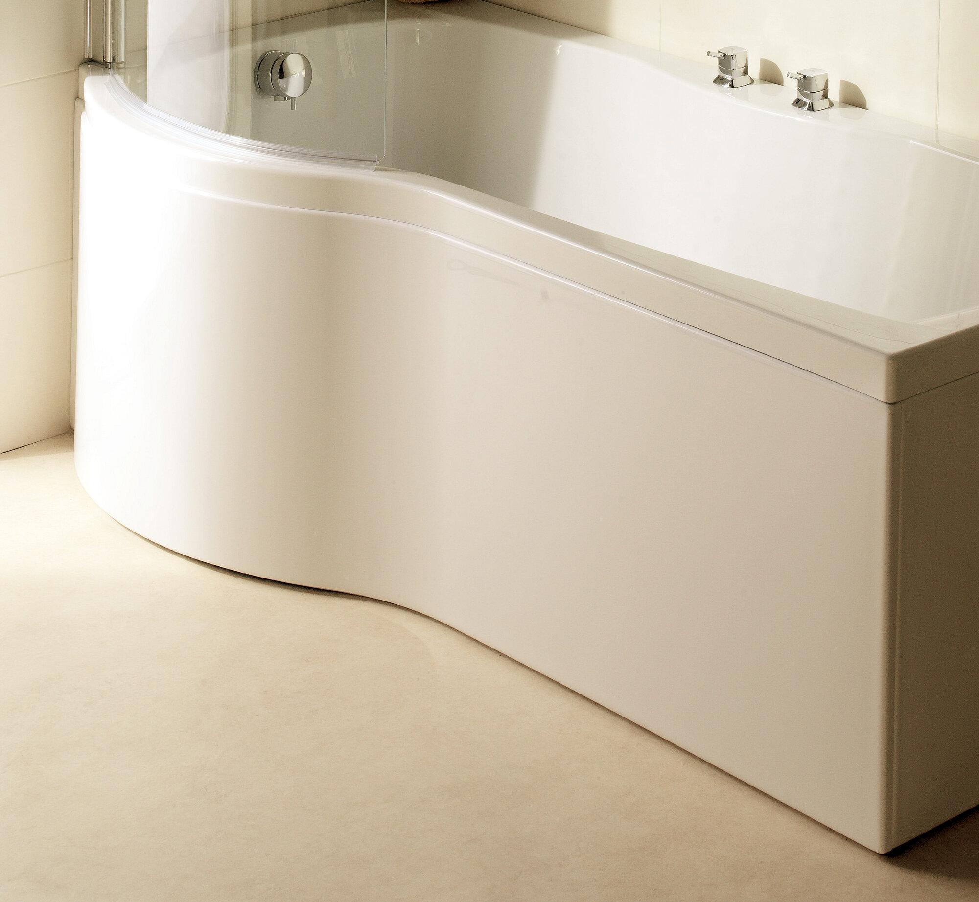 home essence delta shower bath front panel ebay. Black Bedroom Furniture Sets. Home Design Ideas