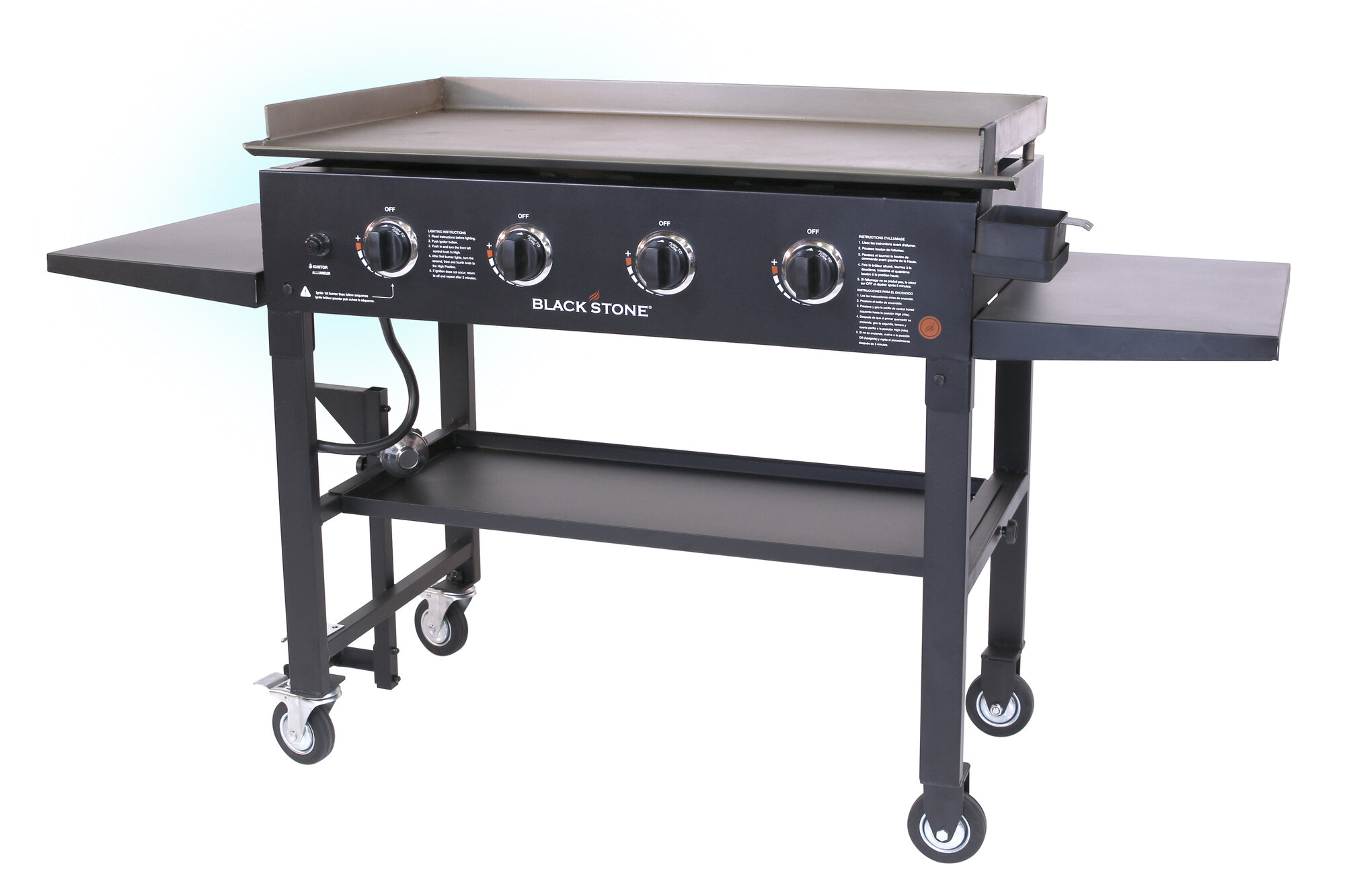 blackstone 36 griddle gas grill cooking station ebay