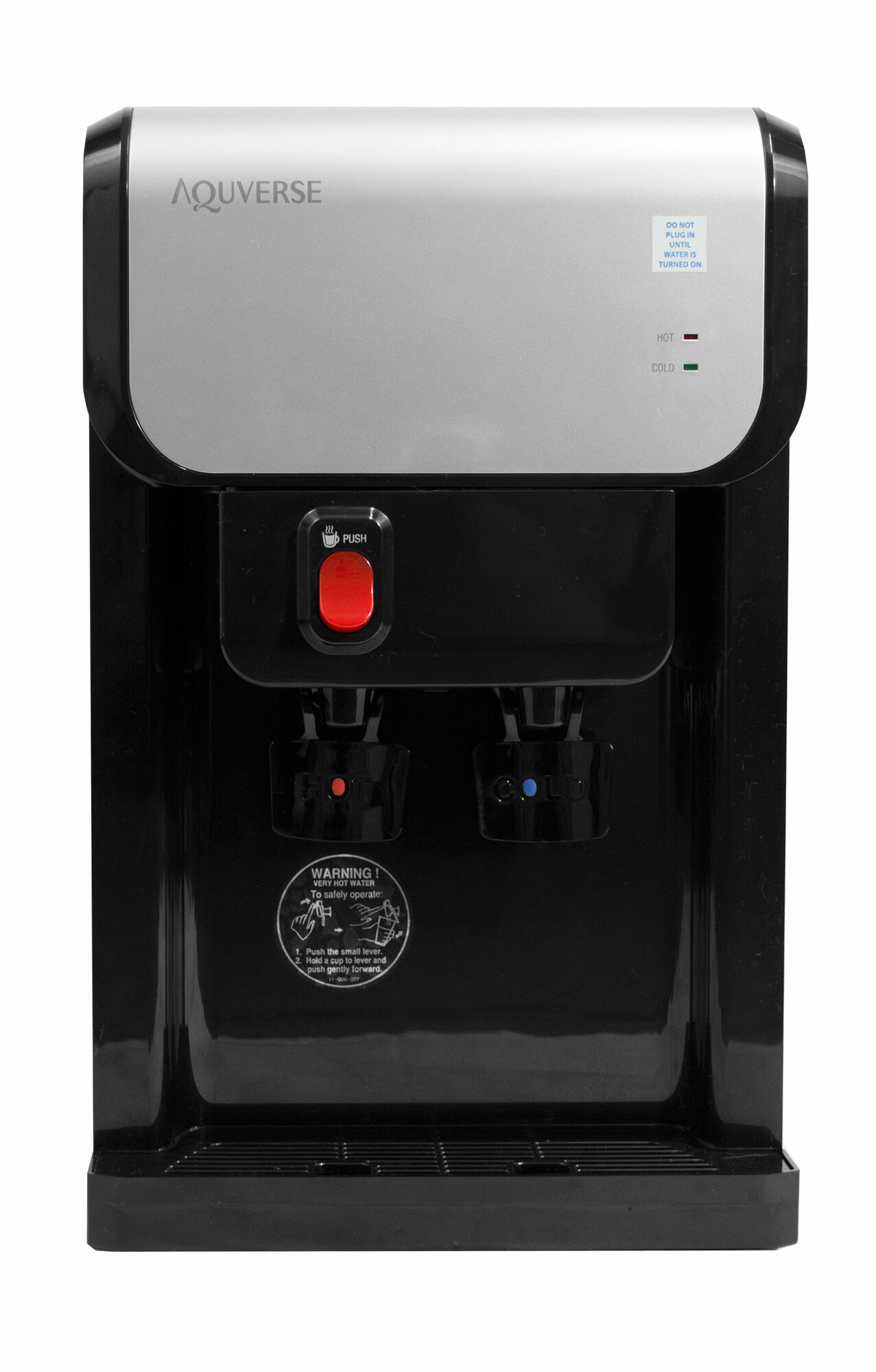 Aquverse Bottleless Countertop Hot And Cold Water Cooler