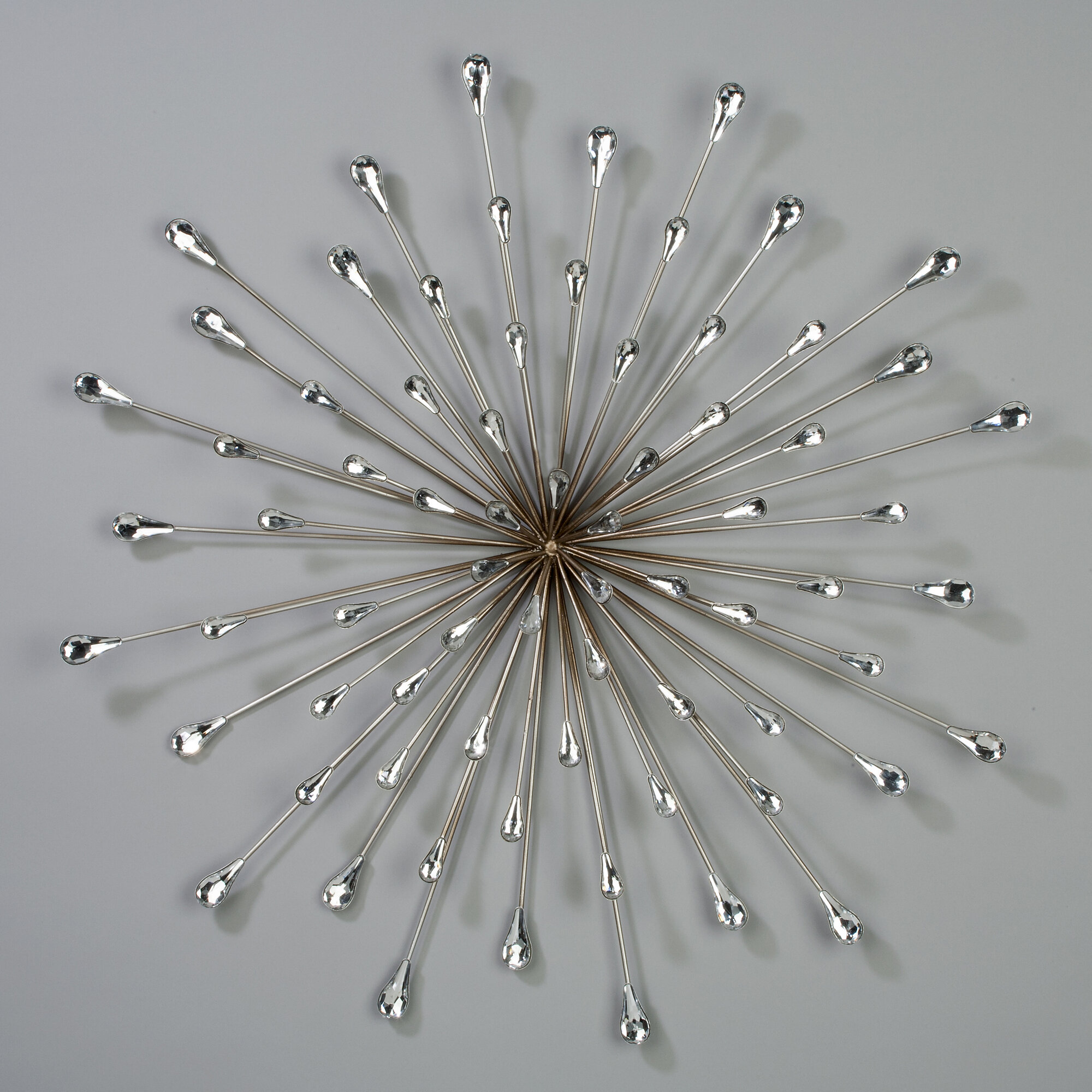 Starburst Metal Wall Decor Ebay