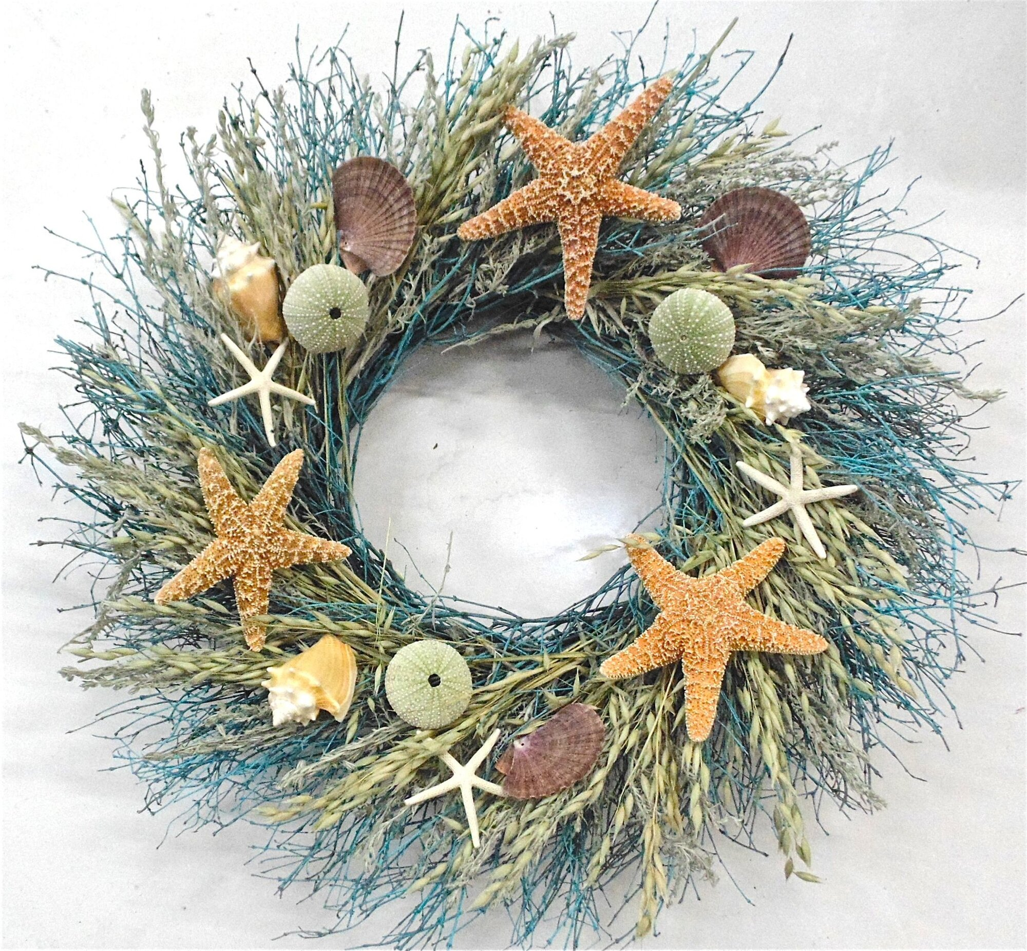 Starfish Ocean Wreath EBay