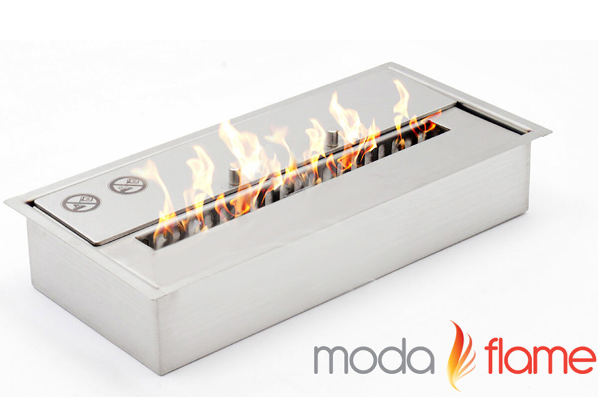 moda flame pro bio ethanol tabletop fireplace ebay. Black Bedroom Furniture Sets. Home Design Ideas