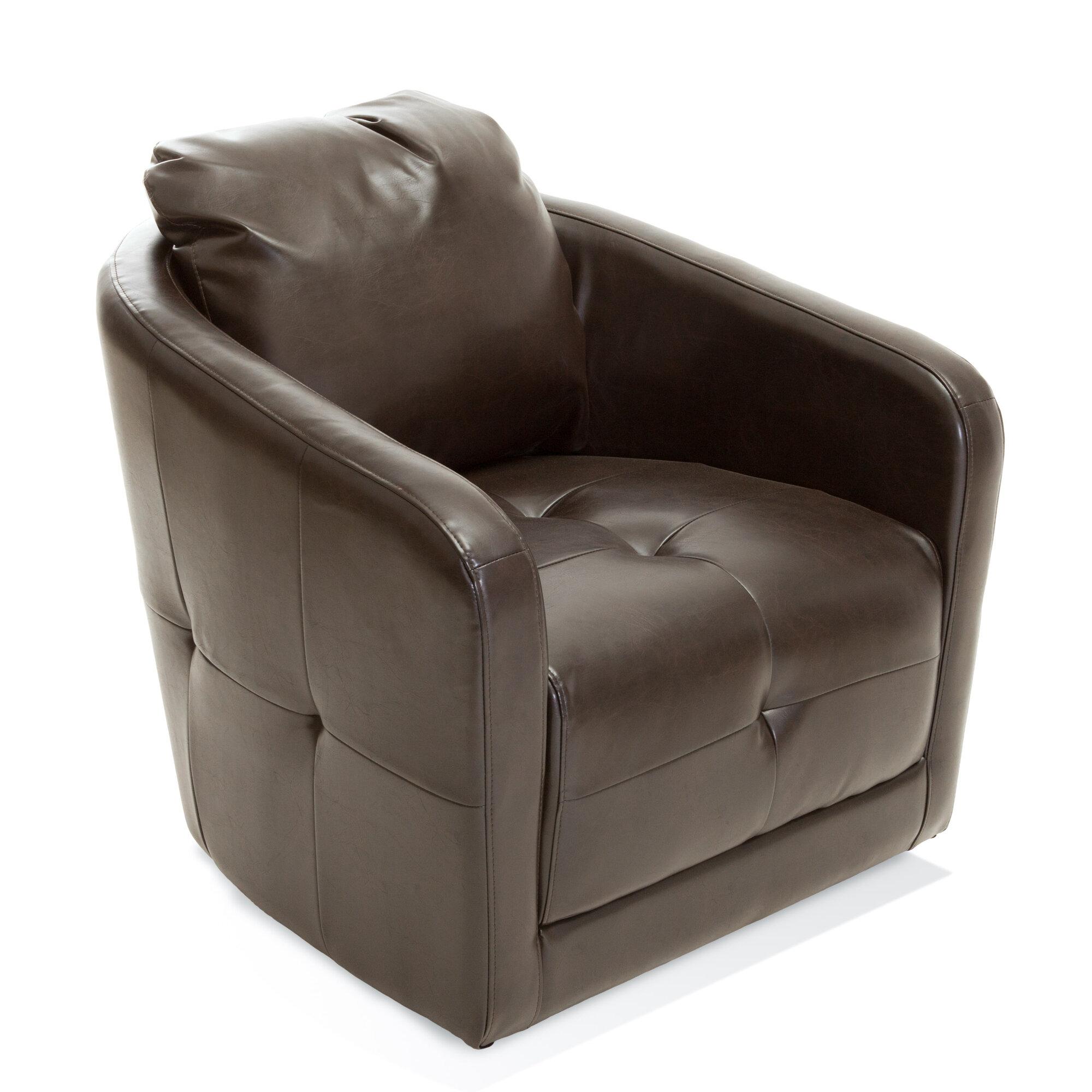 Home Loft Concepts Concordia Swivel Barrel Chair Nfn3409 Ebay