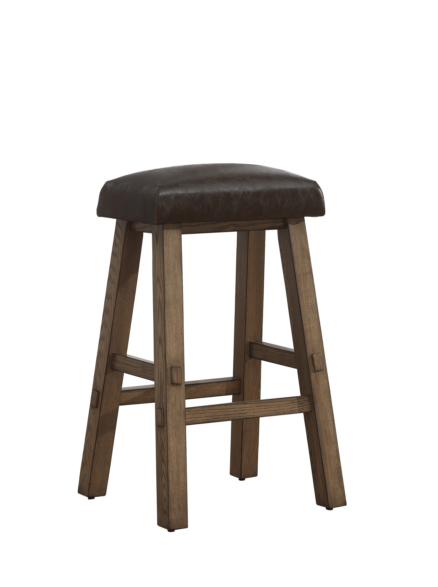 American Heritage Saddle 30quot Bar Stool with Cushion : 1 from ebay.com size 1493 x 2000 jpeg 216kB
