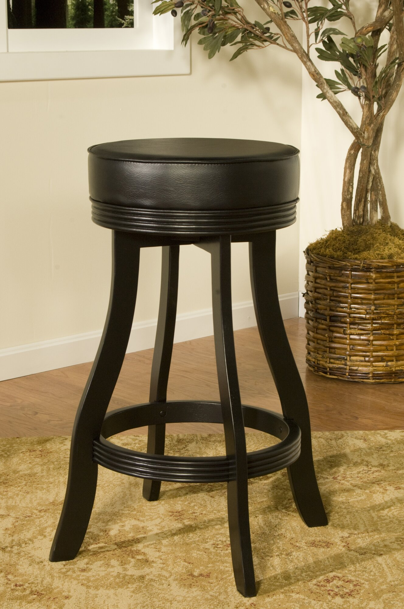 American Heritage 30 5 Quot Swivel Bar Stool With Cushion Ebay