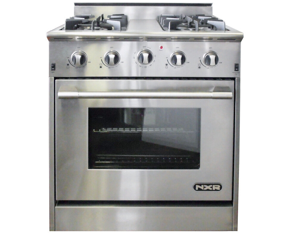 Nxr Professional Ranges 4 2 Cu Ft Gas Convection Range